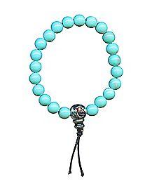 Turqouise-Effect Power Beaded Bracelet