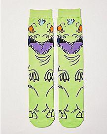 Reptar Crew Socks - Nickelodeon