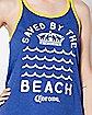 Saved By The Beach Corona Tank Top