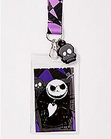 Jack Skellington Lanyard - The Nightmare Before Christmas