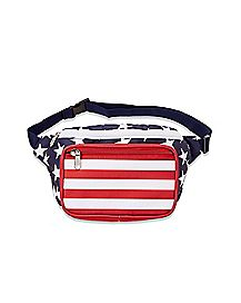 Stars and Stripes Americana Fanny Pack