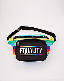 Equality Rainbow Fanny Pack