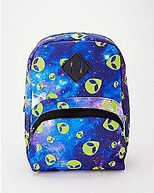 Galaxy Alien Mini Backpack