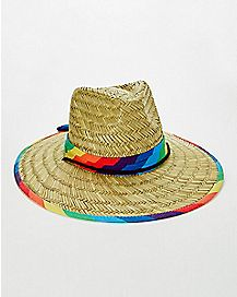 Rainbow Pride Lifeguard Hat