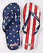 Americana Budweiser Flip Flops