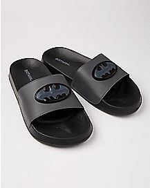 Batman Slide Sandals - DC Comics