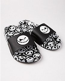 Jack Skellington Slide Sandals - The Nightmare Before Christmas