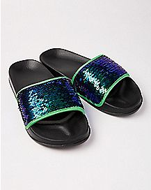 Magic Sequin Slide Sandals