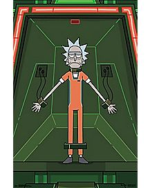 Shackled Rick Poster - Rick and Morty