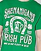 Shenanigans Irish Pub St. Patrick's Day T Shirt