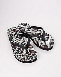 Nintendo Flip Flops
