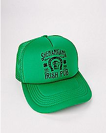 Shenanigans Irish Pub St. Patrick's Day Trucker Hat