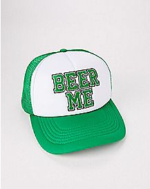 Light Up Beer Me St. Patrick's Day Trucker Hat