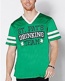 St. Pat's Drinking Team Captain Jersey Shirt