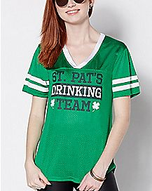 Captain St. Pat's Drinking Team Jersey Shirt
