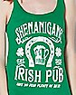 Shenanigans Irish Pub Tank Top