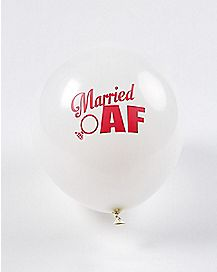 Married AF Balloons