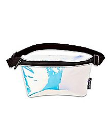 Iridescent Mirror Fanny Pack
