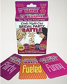 Bridal Party Battle Card Game