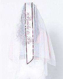 Bride-To-Be Veil Sash