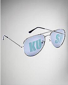 Kush Aviator Sunglasses
