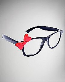 Red Bow Pretender Glasses