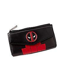 Deadpool Zipper Wallet - Marvel
