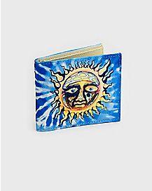 Tie Dye Sun Sublime Bifold Wallet