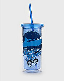 Boats 'N Hoes Step Brothers Cup With Straw - 20 oz.