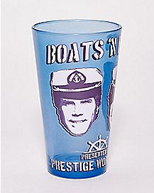 Boats 'N Hoes Step Brothers Pint Glass - 16 oz.
