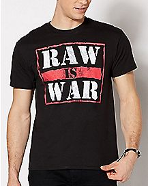 Raw is War T Shirt - WWE