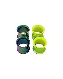 Iridescent Tunnels - 2 Pair