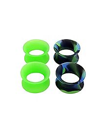 Multi-Pack Tunnel Plugs - 2 Pair