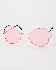 Love Lens Aviator Sunglasses