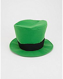St. Patrick's Light Up Rub Me For Luck  Day Hat