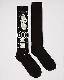 Ooh Wee Mr. Poopybutthole Knee High Socks - Rick and Morty