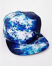 Nova Blue Snapback Hat