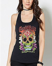 Sugar Skull Sublime Tank Top