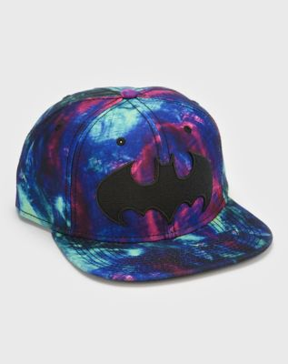 0faca519179eb Tie Dye Superman Snapback Hat - DC Comics - Spencer s