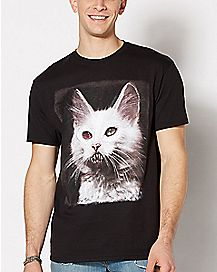 Cujo Kitty T Shirt - Antique Horror
