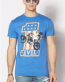 Evel Knieval T Shirt