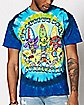 Summertime Tie Dye Grateful Dead T Shirt