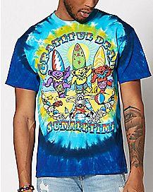 Summertime Tie Dye Grateful Dead T Shirt