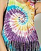 Tie Dye Fringe Grateful Dead Tank Top