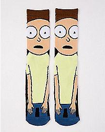 Morty Crew Socks - Rick and Morty
