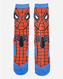 Spider-Man Crew Socks - Marvel