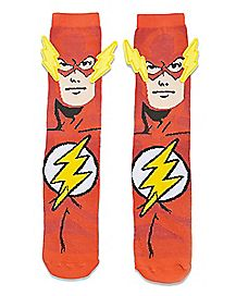 3D The Flash Socks - DC Comics