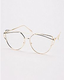 Goldplated Pretender Fake Glasses