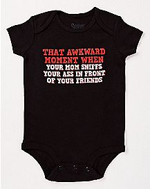 That Awkward Moment When Baby Bodysuit
