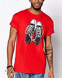 Chucks Kurt Cobain T Shirt